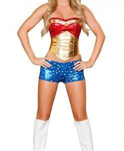 P248 Costum WonderWoman - Super Eroi - Haine > Haine Femei > Costume Tematice > Super Eroi