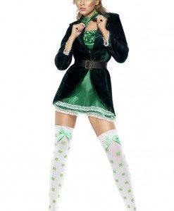 P314 Costum Halloween trifoi norocos sexi - Altele - Haine > Haine Femei > Costume Tematice > Altele