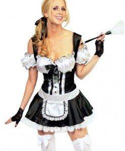P72 Costum tematic menajera - Menajera - Haine > Haine Femei > Costume Tematice > Menajera