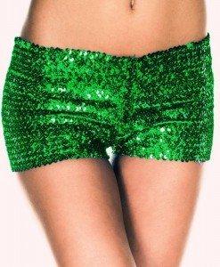PSC11-12 Pantaloni scurti cu paiete - Pantaloni Scurti - Haine > Haine Femei > Pantaloni Dama > Pantaloni Scurti