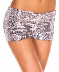 PSC11-6 Pantaloni scurti cu paiete - Pantaloni Scurti - Haine > Haine Femei > Pantaloni Dama > Pantaloni Scurti