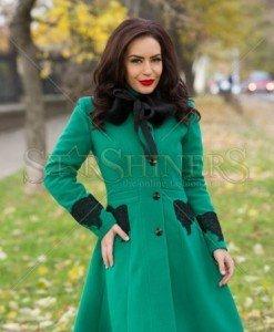 Palton LaDonna Best Impulse Green - Paltoane -