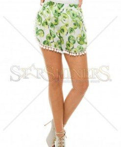 Pantaloni Scurti PrettyGirl Dispatch Green - Pantaloni scurti -