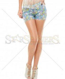 Pantaloni Scurti PrettyGirl Nature Purple - Pantaloni scurti -