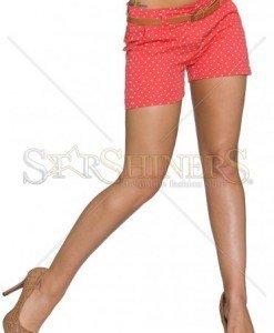 Pantaloni Scurti Summer Dots Coral - Pantaloni scurti -