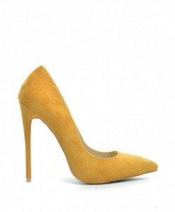Pantofi Berta Galbeni - Pantofi - Pantofi
