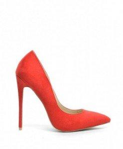 Pantofi Berta Rosii 2 - Pantofi - Pantofi