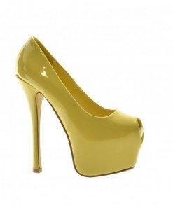 Pantofi Bote Galbeni - Pantofi - Pantofi