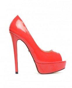 Pantofi Dinko Rosii - Pantofi - Pantofi