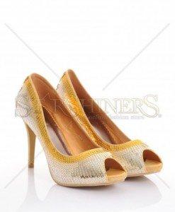 Pantofi Disco Glow Gold - Pantofi -