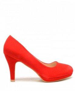 Pantofi Dumars Rosii - Pantofi - Pantofi