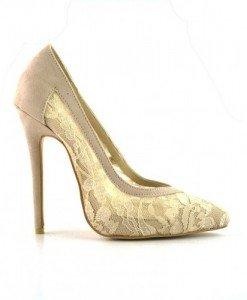 Pantofi Ela Bej - Pantofi - Pantofi