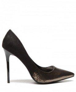 Pantofi Elgo Negri-Aurii - Pantofi - Pantofi