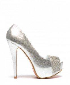 Pantofi Emanos Argintii - Pantofi - Pantofi