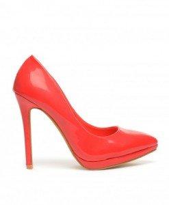 Pantofi Ertan Rosii - Pantofi - Pantofi