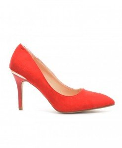 Pantofi Flavia Rosii2 - Pantofi - Pantofi