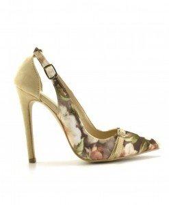 Pantofi Flower Bej - Pantofi - Pantofi