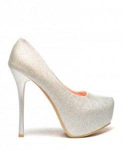 Pantofi Gala Argintii - Pantofi - Pantofi
