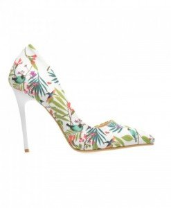 Pantofi Gano Albi - Pantofi - Pantofi