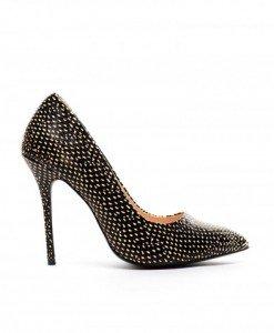 Pantofi Gazo Negri - Pantofi - Pantofi