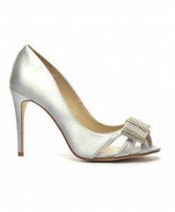 Pantofi Ginea Arginti - Pantofi - Pantofi