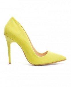 Pantofi Glamour Galbeni - Pantofi - Pantofi