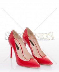 Pantofi Mineli Boutique Elegant Red - Pantofi -