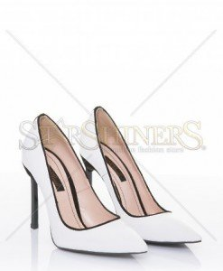 Pantofi Mineli Boutique Engaged White - Pantofi -