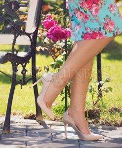Pantofi Mineli Boutique Fulminate Cream - Pantofi -
