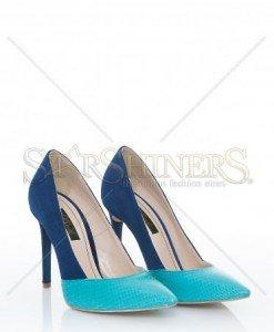Pantofi Mineli Boutique Magnified DarkBlue - Pantofi -