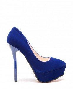 Pantofi Onmar Albastri - Pantofi - Pantofi