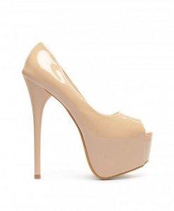Pantofi Piero Bej - Pantofi - Pantofi