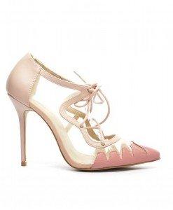 Pantofi Rozy Roz - Pantofi - Pantofi