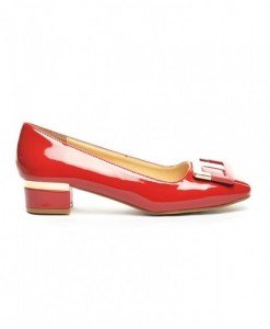 Pantofi Sabina Rosii - Pantofi - Pantofi