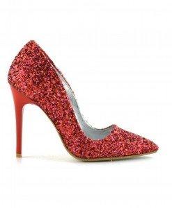 Pantofi Sclip Rosii - Pantofi - Pantofi