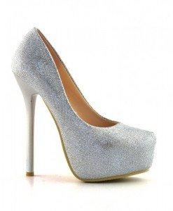 Pantofi Sedea Argintii - Pantofi - Pantofi