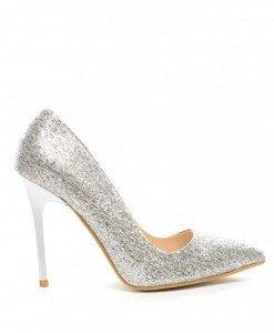 Pantofi Sento Argintii - Pantofi - Pantofi