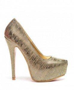 Pantofi Simba Aurii - Pantofi - Pantofi