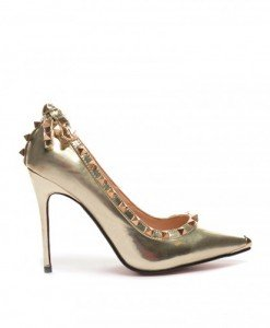 Pantofi Suzu Aurii - Pantofi - Pantofi