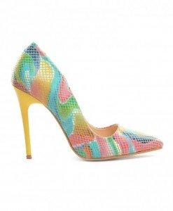 Pantofi Vanga Snake Galbeni - Pantofi - Pantofi