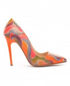 Pantofi Vanga Snake Portocalii - Pantofi - Pantofi