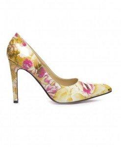 Pantofi West Galbeni - Pantofi - Pantofi