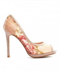 Pantofi Yuri Bej 2 - Pantofi - Pantofi