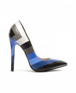Pantofi Zebro Albastri - Pantofi - Pantofi