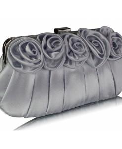 Poseta Silver Flower Design - Genti - 0
