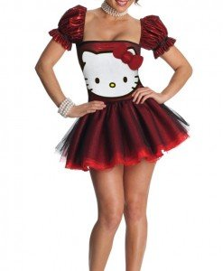 Q313-3 Costum Halloween Hello Kitty - Altele - Haine > Haine Femei > Costume Tematice > Altele