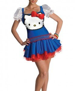 Q313-4 Costum Halloween Hello Kitty - Altele - Haine > Haine Femei > Costume Tematice > Altele