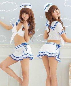 Q71 Costum Tematic Marinar - Armata - Marinar - Haine > Haine Femei > Costume Tematice > Armata - Marinar