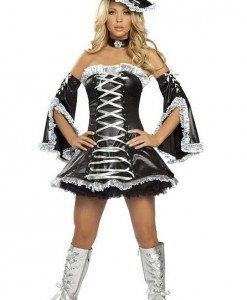Q87 - Costum Halloween Vrajitoare - Vrajitoare - Vampir - Haine > Haine Femei > Costume Tematice > Vrajitoare - Vampir