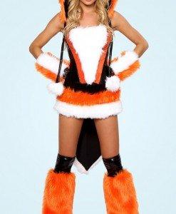 Q96 Costum Halloween vulpe - Animalute - Haine > Haine Femei > Costume Tematice > Animalute